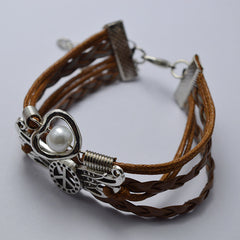 Peace Wing Multilayer Bracelet - Oh Yours Fashion - 2