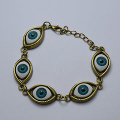 Fashion Angel Devil's Eyes Chain Bracelet - Oh Yours Fashion - 2