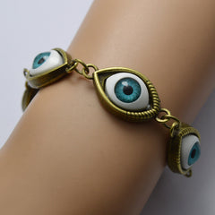 Fashion Angel Devil's Eyes Chain Bracelet - Oh Yours Fashion - 4