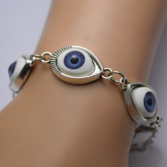 Fashion Angel Devil's Eyes Chain Bracelet - Oh Yours Fashion - 1