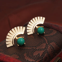 Beautiful Sector Shape Earrings - Oh Yours Fashion - 4