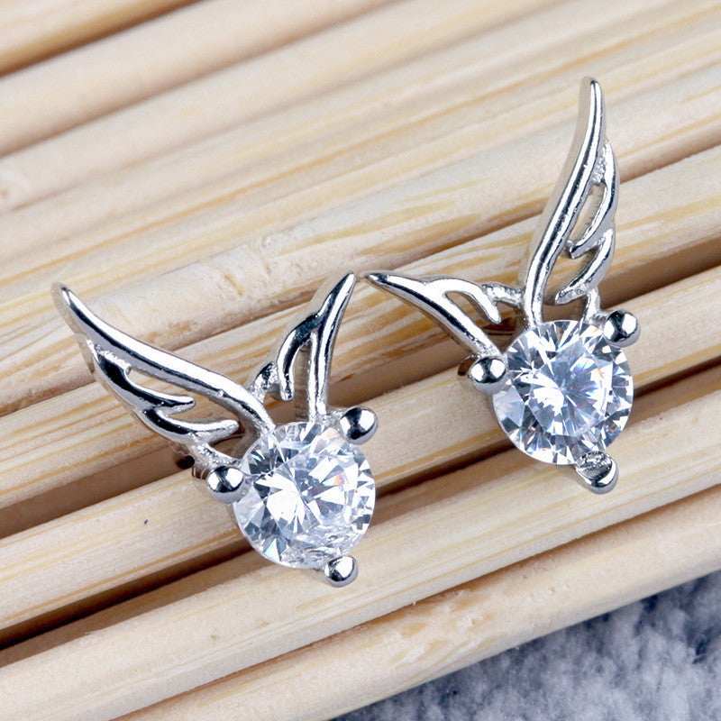 Fashion Korea Style Angel's Wing Earrings - Oh Yours Fashion - 2