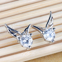 Fashion Korea Style Angel's Wing Earrings - Oh Yours Fashion - 3