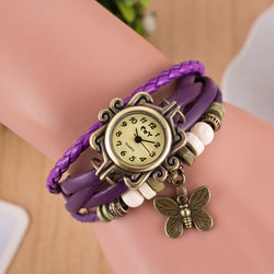 Retro Style Butterfly Bracelet Watch - Oh Yours Fashion - 1
