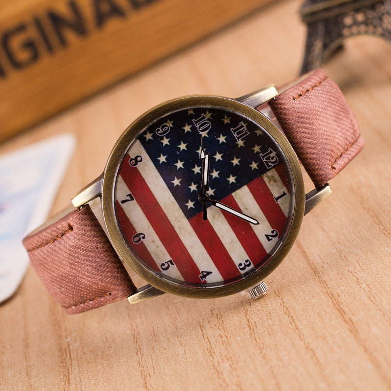 Retro Scrawl Canvas Strap Watch - Oh Yours Fashion - 7
