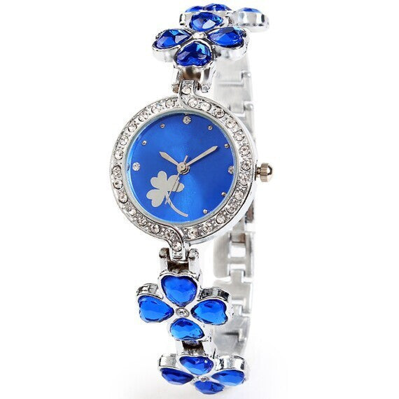 Clover Crystal Alloy Watch - Oh Yours Fashion - 1
