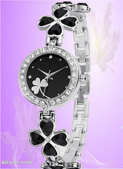 Clover Crystal Alloy Watch - Oh Yours Fashion - 3