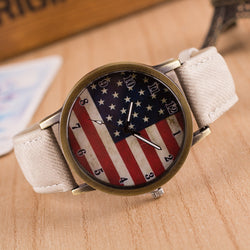 Retro Scrawl Canvas Strap Watch - Oh Yours Fashion - 1