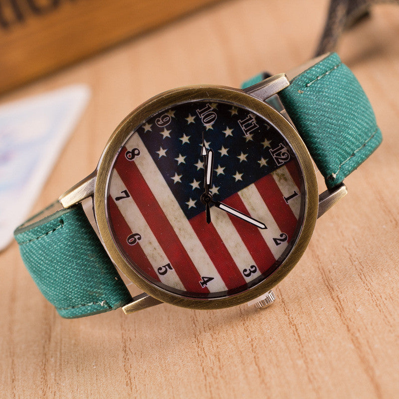 Retro Scrawl Canvas Strap Watch - Oh Yours Fashion - 4