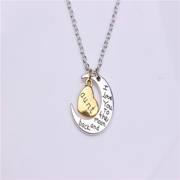 Valentine's Day Gift Moon Sun Necklace - Oh Yours Fashion - 2