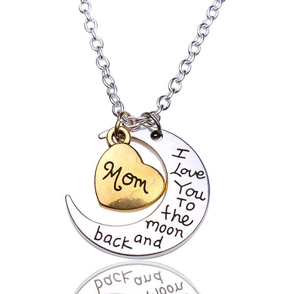 Valentine's Day Gift Moon Sun Necklace - Oh Yours Fashion - 1