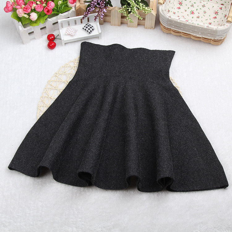Fashion Knit Pleated Pure Color A-line Mini Skirt - Oh Yours Fashion - 4