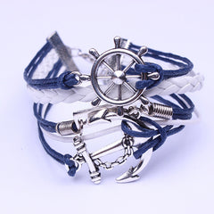 Anchor Rudder Courage Bracelet - Oh Yours Fashion - 3
