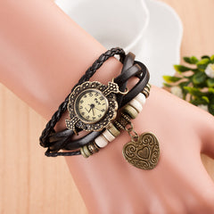 Retro Style Heart Double Arrow Watch - Oh Yours Fashion - 3