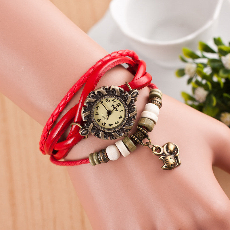 Cute Cat Multilayer Bracelet Watch - Oh Yours Fashion - 2