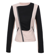 Turn Down Collar Slimming Short Jacket Coat - O Yours Fashion - 4