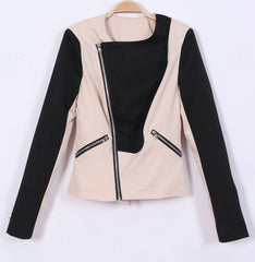Turn Down Collar Slimming Short Jacket Coat - O Yours Fashion - 2