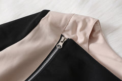 Turn Down Collar Slimming Short Jacket Coat - O Yours Fashion - 6