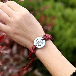 Unique Eight Diagrams Leather Bracelet - Oh Yours Fashion - 1