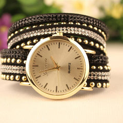 Fashion Rivet Bracelets Watch - Oh Yours Fashion - 3