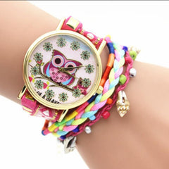 Owl Multilayer Bracelet Watch - Oh Yours Fashion - 2