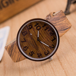 Personality Wood Grain Print Popular Watch - Oh Yours Fashion - 1