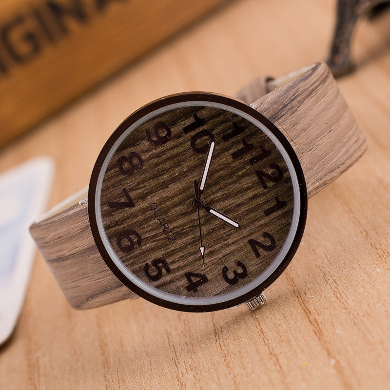 Personality Wood Grain Print Popular Watch - Oh Yours Fashion - 5