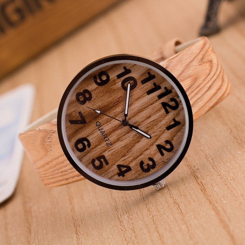 Personality Wood Grain Print Popular Watch - Oh Yours Fashion - 6