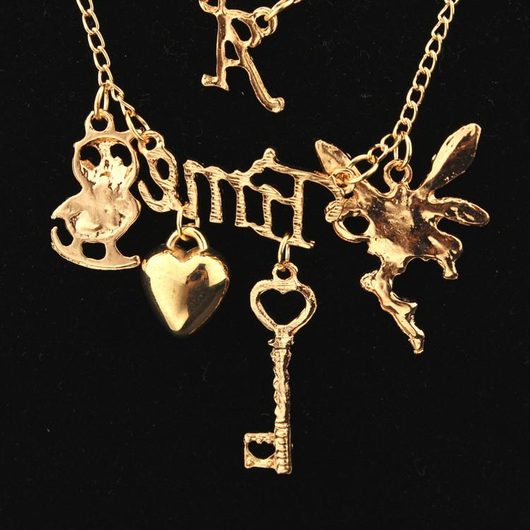 Delicate Women's Key Heart Necklace - MeetYoursFashion - 2