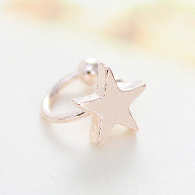 Fashion Cute Star Heart Ear Bones Clip - Oh Yours Fashion - 3