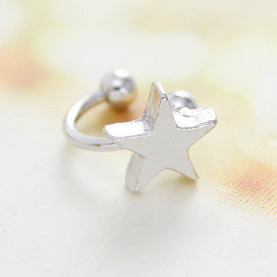 Fashion Cute Star Heart Ear Bones Clip - Oh Yours Fashion - 7