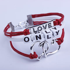 Beautiful Only String Heart Couple Bracelet - Oh Yours Fashion - 1