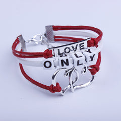 Beautiful Only String Heart Couple Bracelet - Oh Yours Fashion - 2
