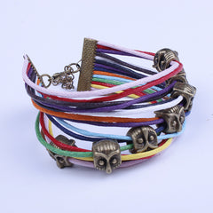 Fashion Owl String Multicolor Bracelet - Oh Yours Fashion - 2