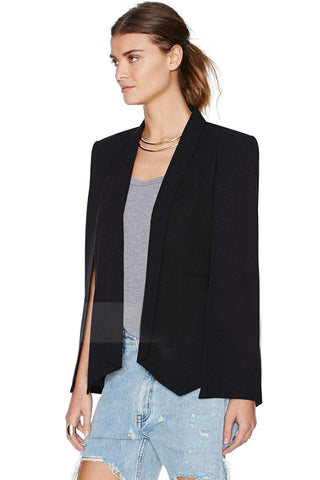 Split Sleeves Cape Suit Blazer Coat