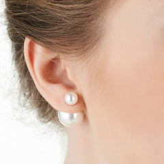 Charming Big Little Pearl Fashion Earrings - Oh Yours Fashion - 1