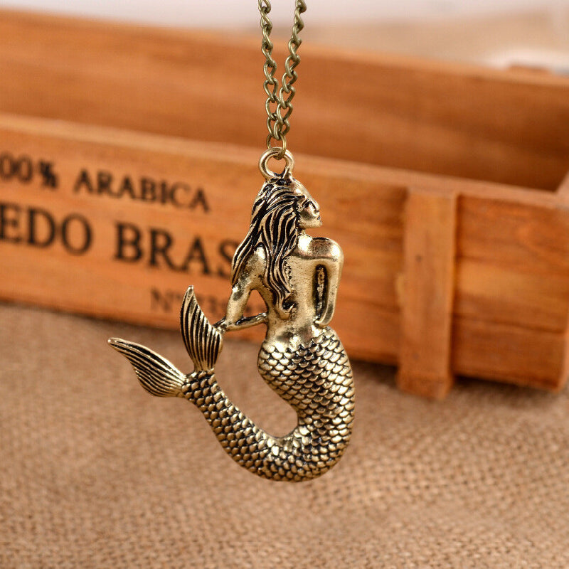 Beautiful Mermaid Pendant Necklace - Oh Yours Fashion - 1