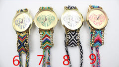 Colorful Love Design Wool Knitting Strap Watch - Oh Yours Fashion - 5