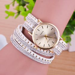 Personality Rivet Strap Bracelet Watch - Oh Yours Fashion - 1