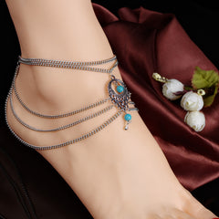 National Style Hollow Out Droplets Anklet - Oh Yours Fashion - 2