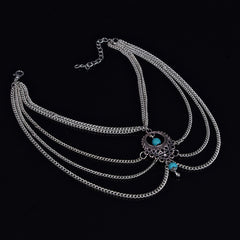 National Style Hollow Out Droplets Anklet - Oh Yours Fashion - 3