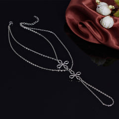 Chinese Knot Multilayer Anklet - Oh Yours Fashion - 4