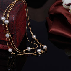 Pearl Copper Beads Single Anklet - Oh Yours Fashion - 4
