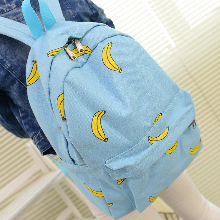 Lovely Korean Canvas Casual Backpack Bag - Oh Yours Fashion - 7