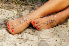 Chinese Knot Multilayer Anklet - Oh Yours Fashion - 3