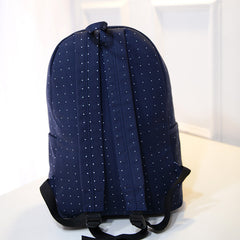Lace Detail Print Fashion Backpack School Bag - Oh Yours Fashion - 6