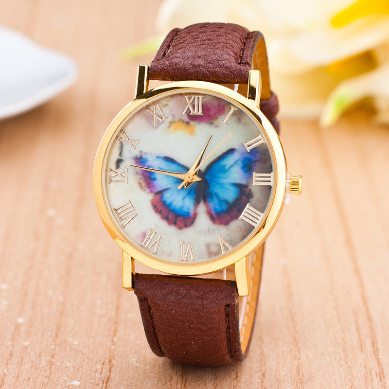 Romantic Butterfly Print Watch - Oh Yours Fashion - 3