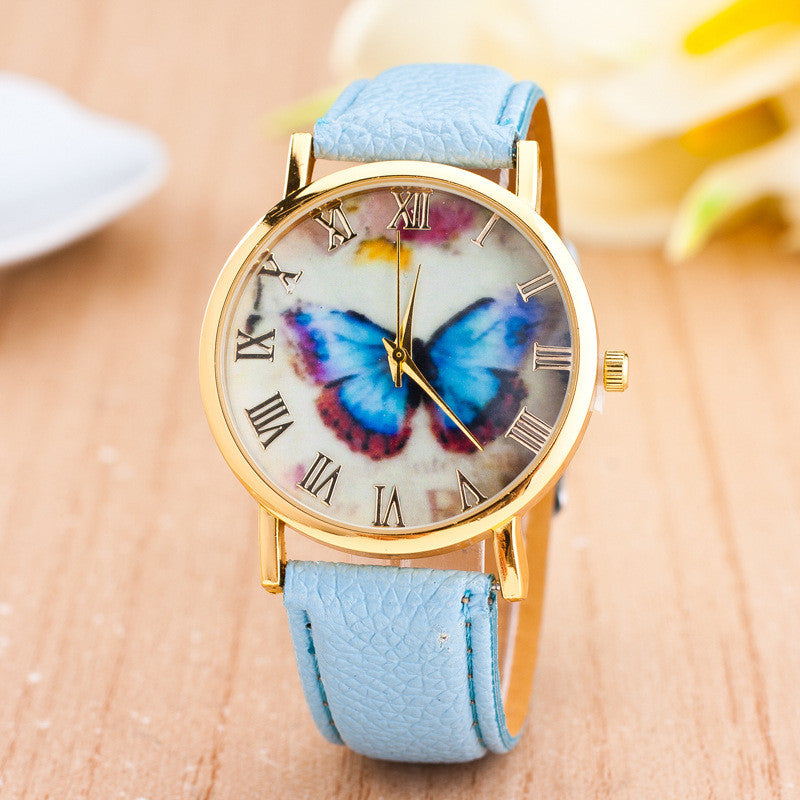 Romantic Butterfly Print Watch - Oh Yours Fashion - 5