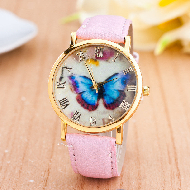 Romantic Butterfly Print Watch - Oh Yours Fashion - 4