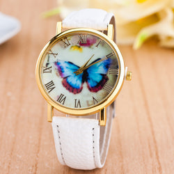Romantic Butterfly Print Watch - Oh Yours Fashion - 1